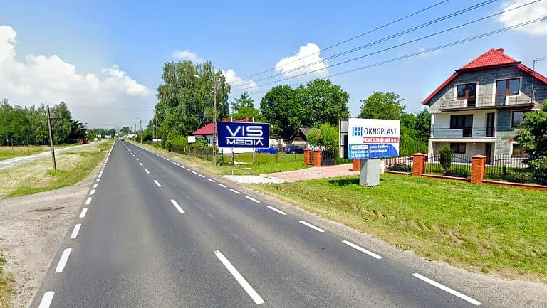 billboard 12 m2, ulica Mszczonowska 107