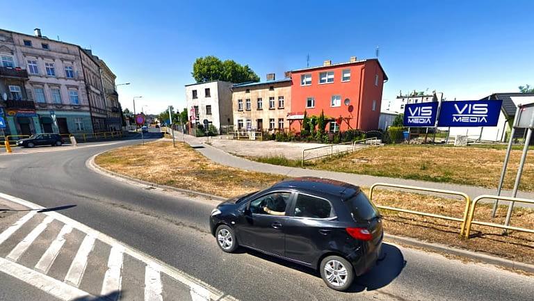 billboard 12 m2, Inowrocław, ulica Działowa i Świętego Ducha