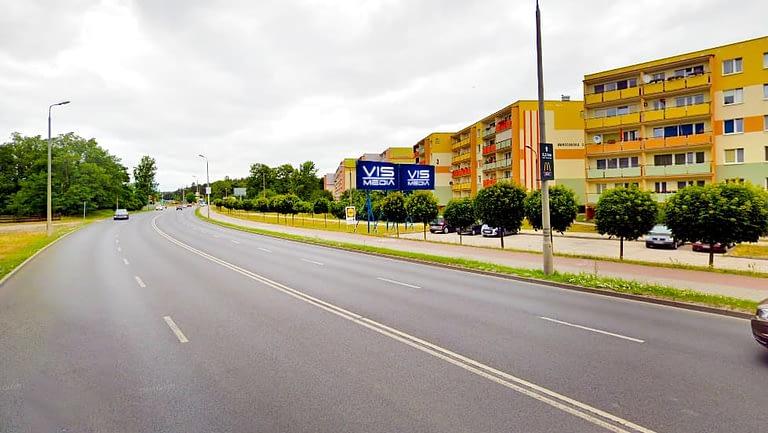 billboard 12 m2, Grudziądz, ulica Warszawska 3