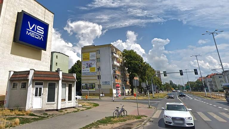 Telebim Ulica Matejki w Toruniu, agencja reklamowa Vismedia