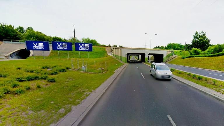 billboard 12 m2, Włocławek, ulica Królowej Jadwigi (2)