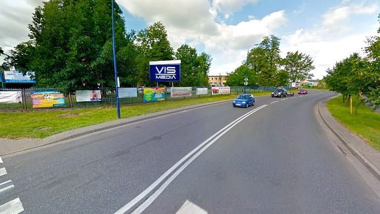 billboard 12 m2, Skierniewice, aleje Niepodległości 4