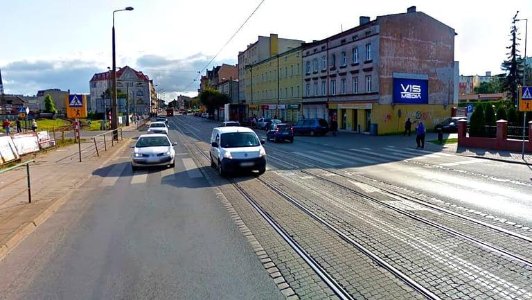 billboard 12 m2, Grudziądz, ulica Chełmińska 48